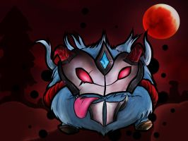 Bloodmoon Poro by Huntermanx