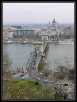 Chain Bridge - view of Pest by jotamyg