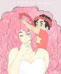 Rose And Steven by 6arnaboo