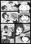 OP-doujin: The first time they met - page21 by Evanyia