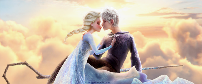 Happy 2nd Anniversary Jelsa by strongyu