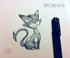 Inktober 2016 - 18 by Paa-H