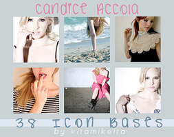 38 Candice Accola Icon Bases by kitamikeita