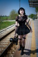 Doll with bear by TheOuroboros