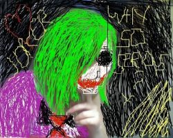 Me as the Joker by Lilrxox