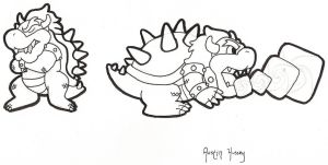 Bowsers by WizardTypist