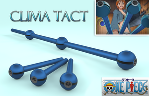 Nami's Clima Tact Weapon 3D by fsuarez913