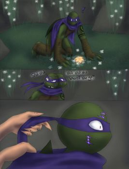 The Kappa and the Forest Spirit pg. 3 by Cicilicious