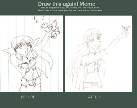 Before and After MEME by Aika16
