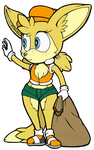 Tilly the Fennec by MolochTDL