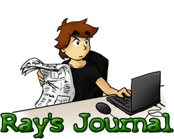 Ray's Journal by Comic-Ray