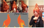 WIP - Flame Princess by xXSnowFrostXx