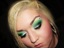 lots of greens by MakeupbyRMF