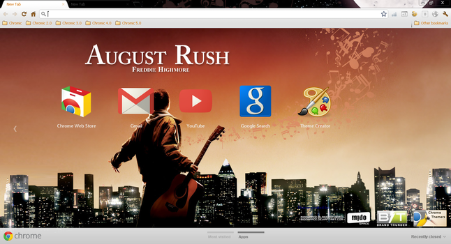 August Rush theme by MidoSpace