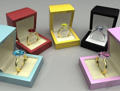 3D rings by mmarti