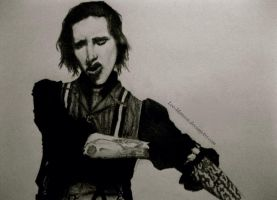 Marilyn Manson 01 by Lee-Manson