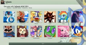 2011 Summary of art by ss2sonic