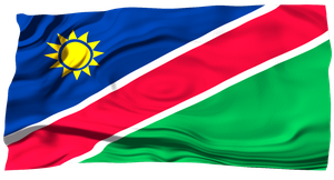 Flags of the World: Namibia by MrAngryDog