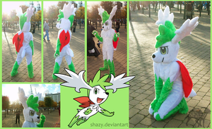 Shaymin Fursuit by shazy