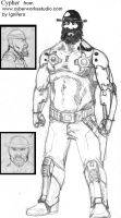 Sidewinder characters 5 by Ignifero