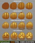Citizen Tutorial - Drawing a Golden Pumpkin by ConceptCookie