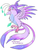 The Lunar Phoenix by Pigeona