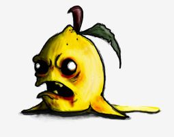 Zombie lemon by ToshiBishiBashi