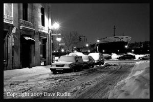 Old City Night, Montreal, 2004 by DaveR99