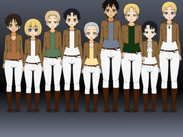SNK Canon Gents [WITH EXPORTS] by TrashyGuroPrince