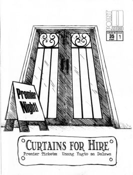 Curtains for Hire cover by pointzerocomics