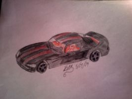 I ACTUALLY DREW A CAR by LightShappy