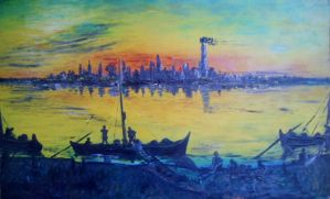 sunset (SOLD) by ekosyaiful