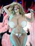 Lady Gaga Hourglass Morph by TFLOVER28