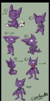 Sableye Growing Up
