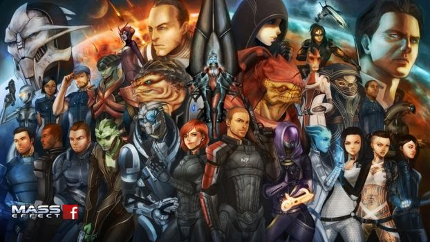 Mass Effect by virak