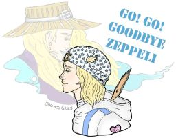 Go! Go! Goodbye Zeppeli by FeverishRainbow