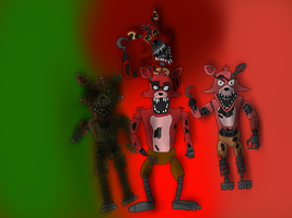 Five Nights at Freddy's: The Foxys by MrSheep7