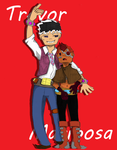 Trevor and Mariposa by Strider-Tina