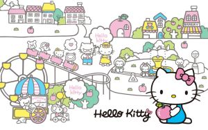 Cute Hello Kitty by NathalieHurtado