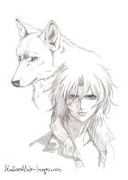 Wolf's Rain - Kiba by ClimaxTogether