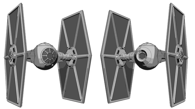 TIE Fighter WIP by Quinn-G