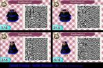 Animal Crossing - Blue Rose Goth - Gothic Dress by TheBeastInBeauty