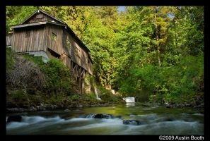 Old grist mill by austinboothphoto