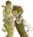 Peter and Honey by Foreveryoung8