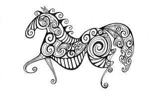 Horse by Coccis