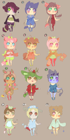 Berry Big Adoptables .:Closed:. by Pieology