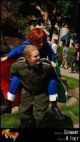 APH-cosplay: Smile, my love by Kumagorochan