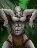 LOTR: The beast of the wood by LaDarkA117