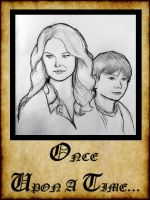 Once Upon A Time - The Savior and The Son by Loralthea