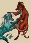 Mythical Fight by Bonniemarie